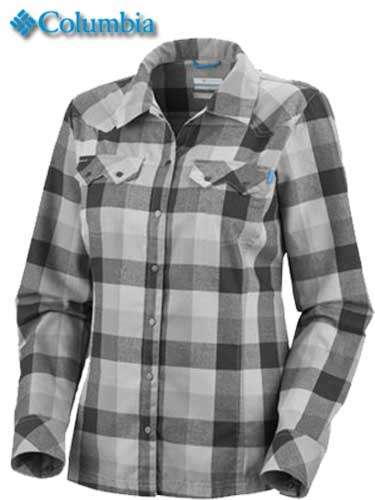 Columbia Sportswear W's Saturday Trail Plaid LS Shirt (AL7068)